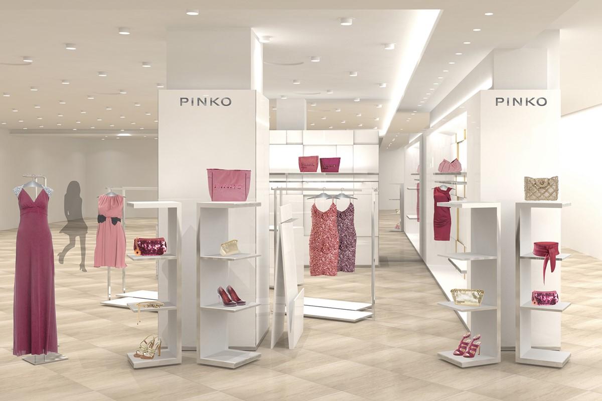 buy popular 92323 becfc pinko shop-in-shop rinascente – florence   spaziolaboratorio ...